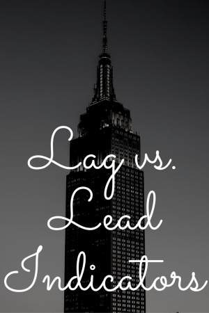 Lag vs Lead Indicators for businesses