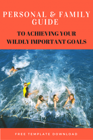 Personal & Family Guide to Achieving Your Wildly Important Goals ...