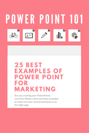 These are the best examples of PowerPoint presentations for marketing