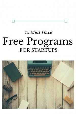 These are the must have free programs for startups that I use every single day in my businesses. Free options are always the best when getting started in business.
